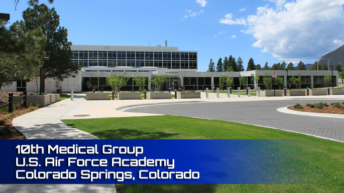 Air Force Academy10th Medical Group Clinic Screenshot