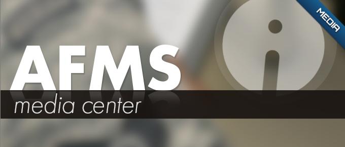 AFMS media center banner