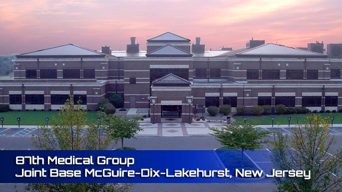 Joint Base McGuire-Dix-Lakehurst 87th Medical Group Clinic screenshot
