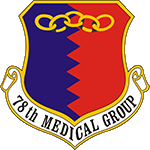 78th Medical Group Emblem