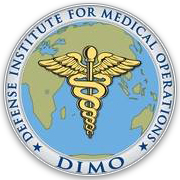 Defense Institute for Medical Operations (DIMO) Emblem