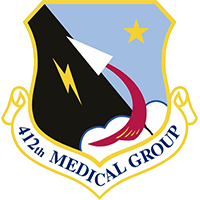 412th Medical Group Emblem