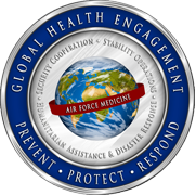 Global Health Engagement Emblem