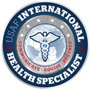International Health Specialists (IHS) Emblem