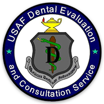 USAF Dental Evaluation and Consultation Service Emblem