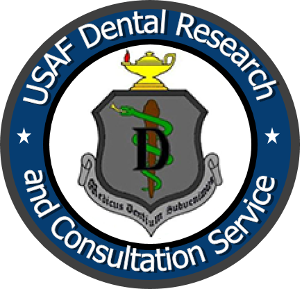 Graphic of U.S. Air Force Dental Research & Consultation Service Logo