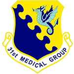 31th Medical Group Emblem
