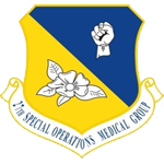 27th Special Operationa Medical Group Emblem