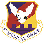 87th Medical Group Emblem