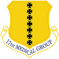 17th Medical Group Emblem
