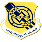 15th Medical Group Emblem