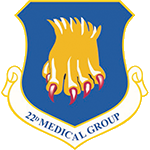 22nd Medical Group Emblem