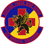 43d Medical Squadron Emblem