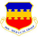 20th Medical Group Emblem