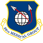 30th Medical Group Emblem