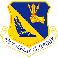 374th Medical Group Emblem