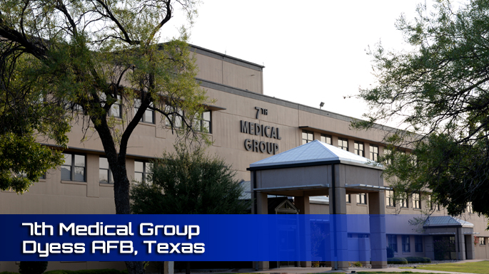 Dyess AFB 7th Medical Group Clinic screenshot