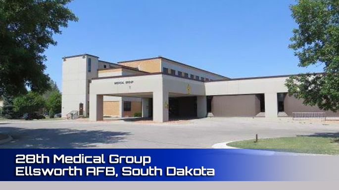 28th Medical Group Ellsworth AFB clinic screenshot
