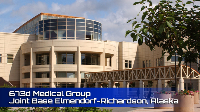 673d Medical Group Joint Base Elmendorf-Richardson clinic screenshot