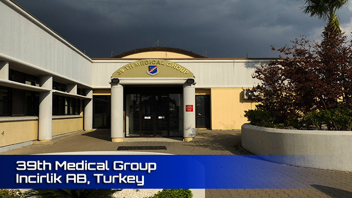 39th Medical Group Incirlik AFB Clinic screenshot