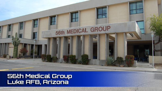 56th Medical Group Clinic Screenshot
