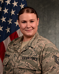 Image of TSgt Casey Sturdivan, noncomissioned officer in charge, Diagnostic Imaging, from the 52d Medical Support Squadron, Spangdahlem Air Base, Germany