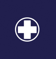 An icon of a medical cross.